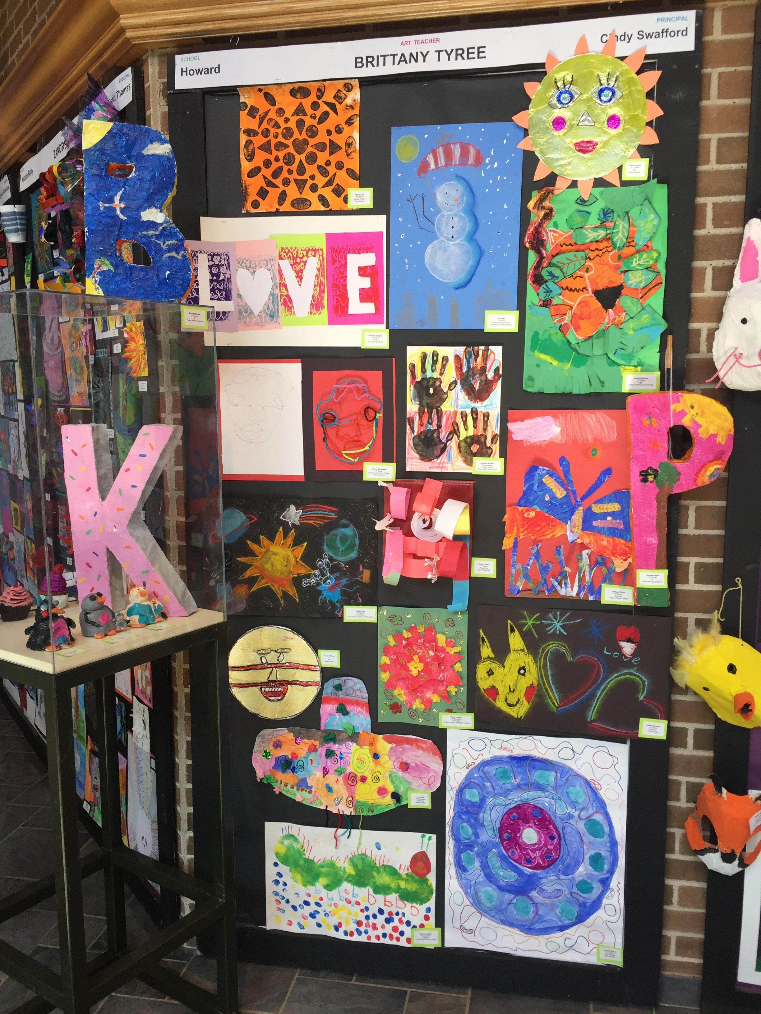 Howard Elementary has little artists!